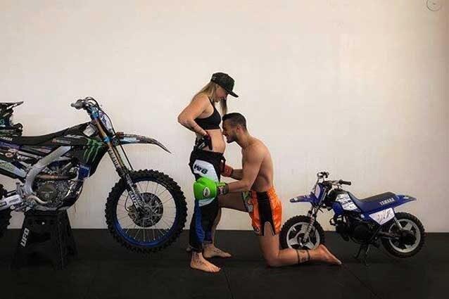 Kiara Fontanesi con il fidanzato, il tre volte campione di Kick Boxing Devin Parenti / Instagram