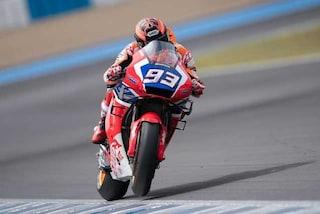 MotoGP test Jerez, Quartararo ritrova il sorriso, novità per Marquez