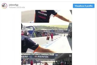 MotoGP, Lorenzo sbaglia ed entra al box Ducati: l'errore di Jerez diventa virale