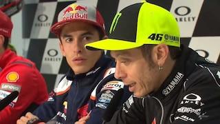 """MotoGP, Valentino Rossi: """"Mugello fantastico ma comincia a diventare pericoloso"""""""