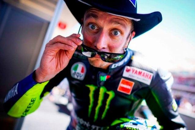 Valentino Rossi ad Austin / Getty