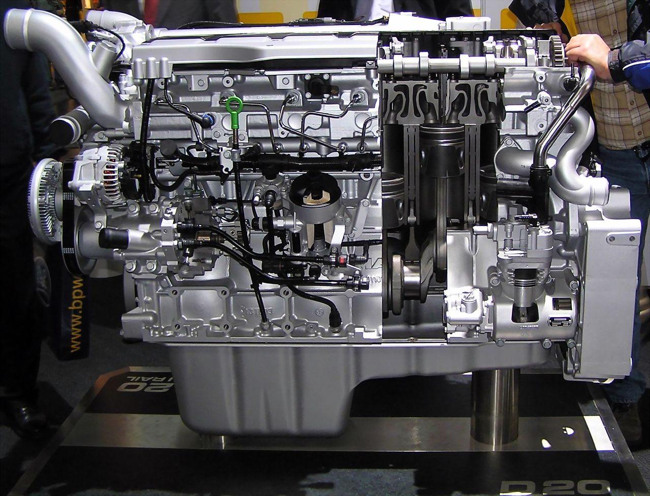 Il motore diesel common rail