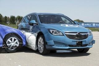 Incidenti stradali, arriva l'airbag esterno contro le collisioni da impatto laterale