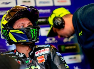 """MotoGP Barcellona, Valentino Rossi: """"L'importante è restare nei dieci"""""""
