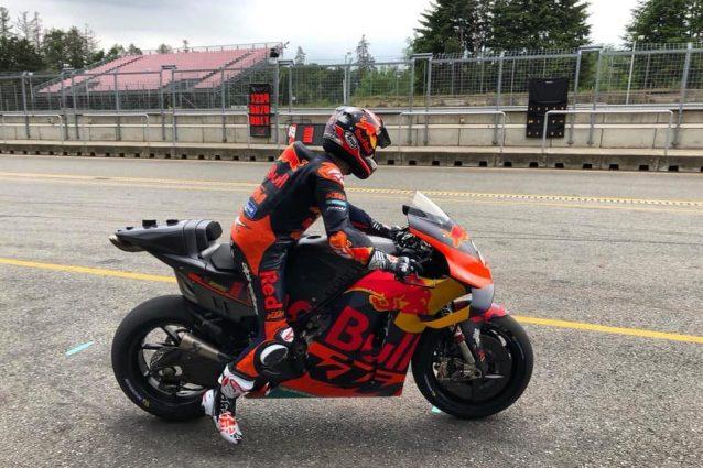 Dani Pedrosa a Brno per il primo vero test sulla KTM