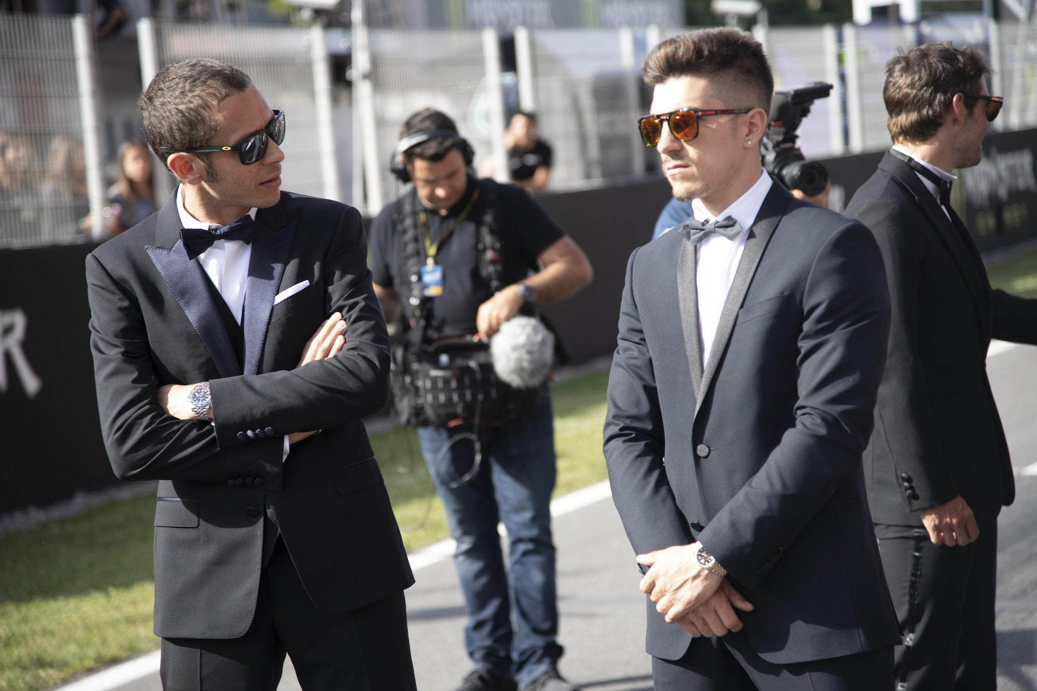 Valentino Rossi e Maverick Vinales / MotoGP