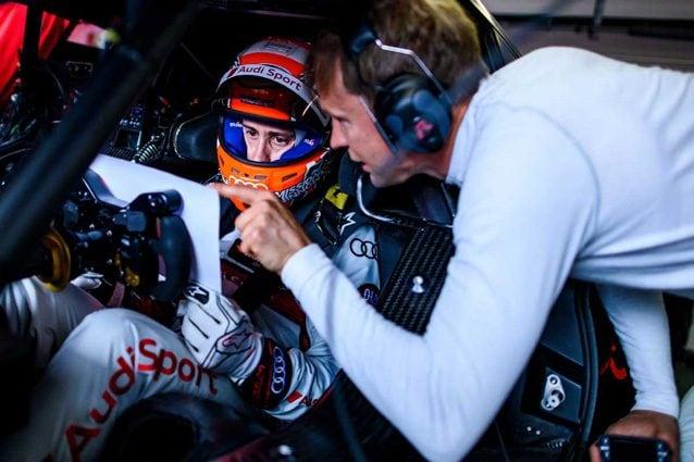 Andrea Dovizioso al volante dell'Audi con il quale ha corso nel DTM – Foto @DTM
