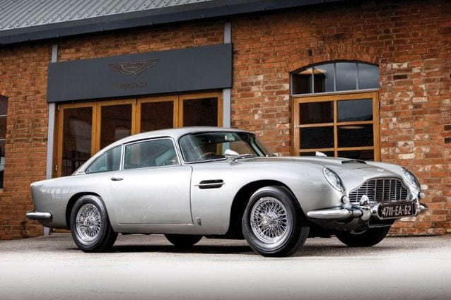L'Aston Martin DB5 di James Bond – Foto Simon Clay ©2019 Courtesy of RM Sotheby's