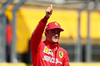 """Leclerc cauto: """"Difficile infastidire la Mercedes, ma lotteremo fino alla fine"""""""