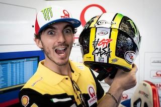 MotoGP, da Bagnaia a Suzuki: i caschi speciali del Mugello