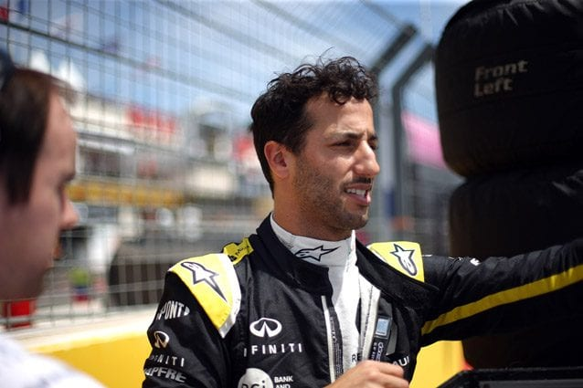 Daniel Ricciardo – LaPresse