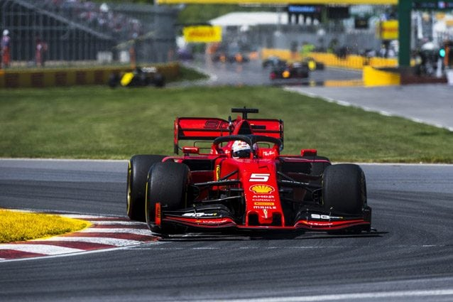 La Ferrari di Sebastian Vettel – Ferrari