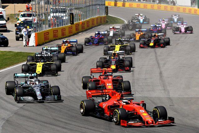 Le vetture di Formula 1 in Canada – Getty images