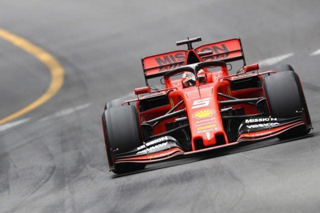 La Ferrari di Sebastian Vettel / Getty