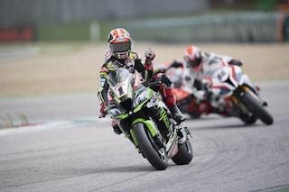 Superbike: Rea vince Gara-1 sul bagnato di Misano, sul podio con lui Sykes e Bautista