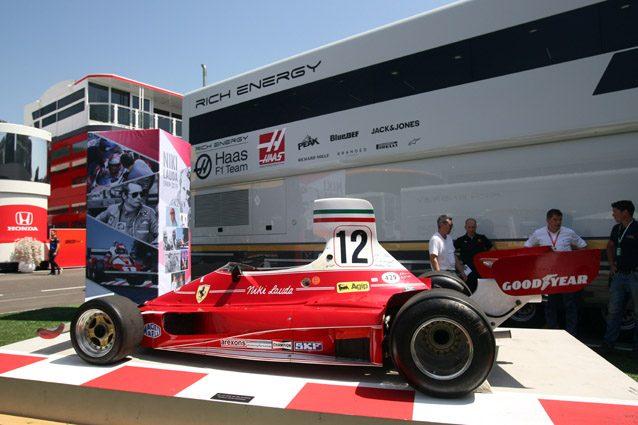 La Ferrari 312 T di Niki Lauda – LaPresse