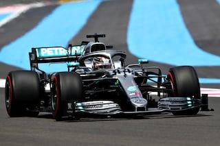 F1 GP Francia, Qualifiche: prima fila tutta Mercedes, male Vettel che scatterà 7°