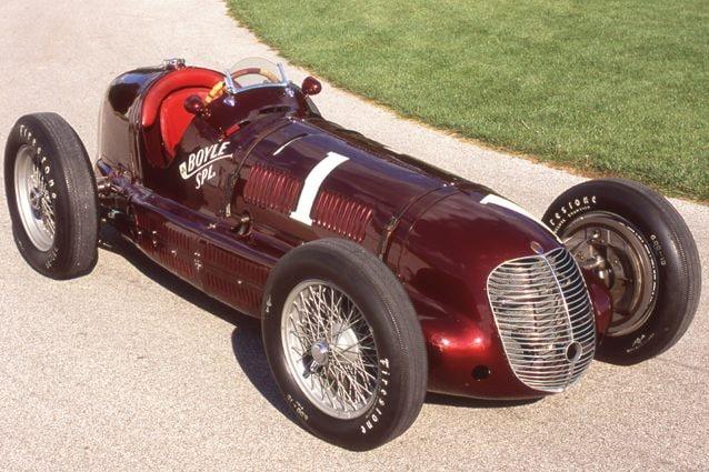 La Maserati 8CTF