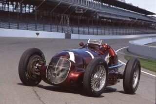 Maserati rende omaggio alla 8CTF, 80 anni fa la prima vittoria alla 500 Miglia di Indianapolis