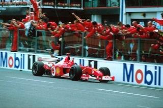 La Ferrari di Michael Schumacher all'asta, la F2002 campione del mondo in vendita ad Abu Dhabi