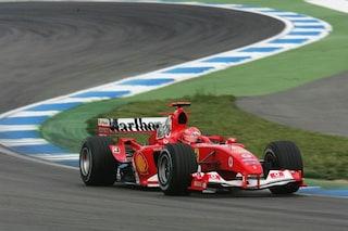 Ritorno al passato, uno Schumacher sulla Ferrari F2004: Mick guiderà l'auto del padre a Hockenheim