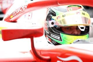 F2: la sfortuna non abbandona Mick Schumacher, il tedesco rimane fermo sulla griglia alla partenza