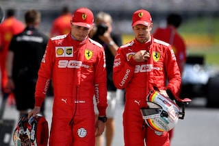 """Leclerc e Vettel in coro: """"Podio positivo, ma le Mercedes sono troppo forti per noi"""""""