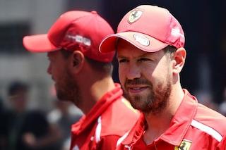 """Vettel sul ricorso Ferrari: """"Non cambio idea rispetto al Canada, proveremo a riaprire il caso"""""""