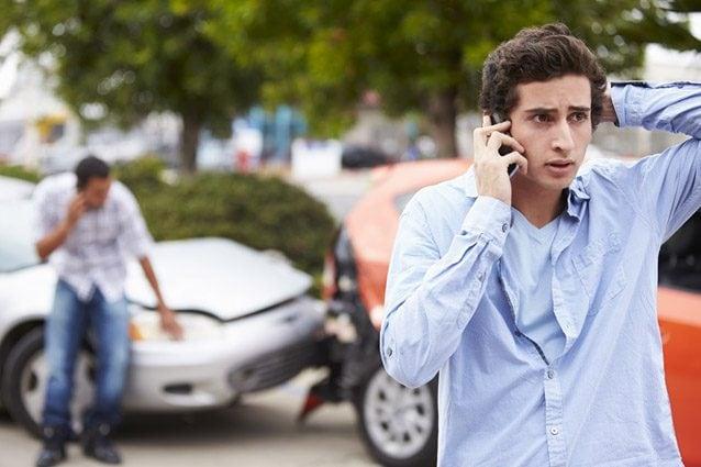 Un testimone di un incidente stradali