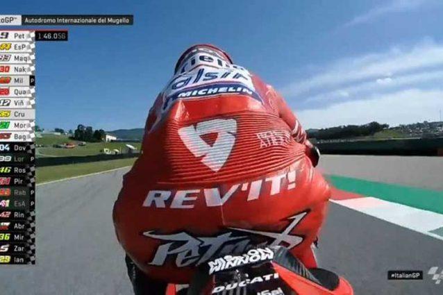 Il giro record di Danilo Petrucci al Mugello / MotoGP.com