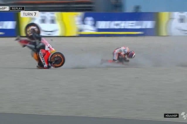 L'incidente di Jorge Lorenzo alla curva 5 / MotoGP
