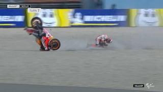 MotoGP, ad Assen c'è Quartararo davanti, brutta botta per Lorenzo
