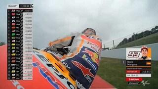 MotoGP Barcellona, Marquez davanti a Quartararo e Vinales, 4° Dovi, 9° Rossi