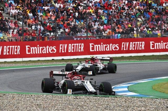 Le due Alfa Romeo Racing – LaPresse