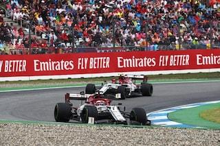 Frizione irregolare alla partenza, le due Alfa Romeo penalizzate: a punti Hamilton e Kubica
