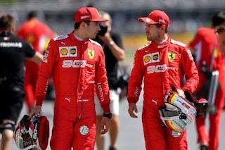 Ordini di scuderia e malumori in Ferrari, tra Vettel e Leclerc è già guerra fredda