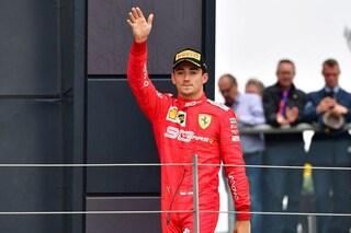 """Leclerc: """"Felice per il podio. Verstappen? Volevo fargli capire che la pista non è solo sua"""""""