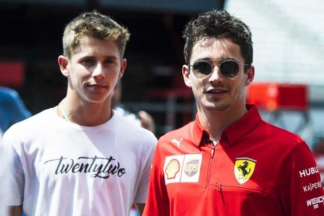 Charles e Arthur Leclerc – Foto Ferrari