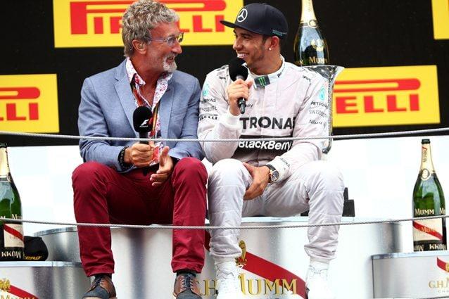 Eddie Jordan insieme a Lewis Hamilton – Getty images