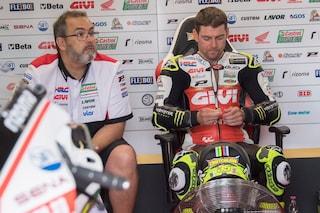 MotoGP, Crutchlow più forte del dolore: in Germania corre con la tibia fratturata