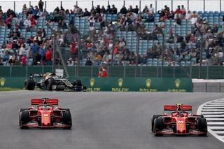 F1 GP Gran Bretagna, Prove libere 3: ruggito Ferrari, Leclerc in testa davanti a Vettel