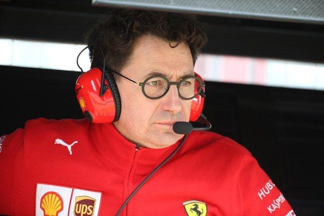 Il team principal della Ferrari Mattia Binotto – LaPresse