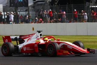 F2: a Silverstone Ghiotto vince Gara-1. Mick Schumacher chiude 11° fuori dalla zona punti