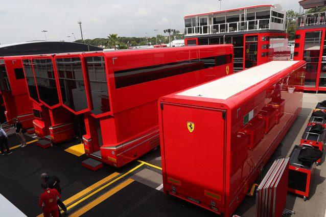 Motorhome Ferrari – LaPresse