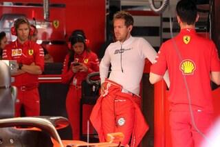 """Vettel ammette: """"Difficile fare meglio, qui la Ferrari non è abbastanza forte"""""""