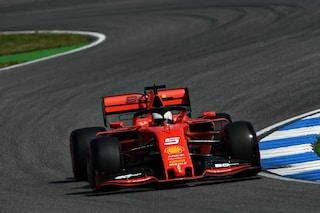 F1 GP Germania, Prove libere 1: Ferrari parte forte, Vettel chiude in testa davanti a Leclerc
