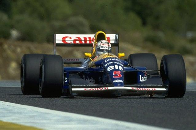 La Williams di Nigel Mansell – Getty images