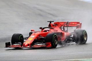 F1, show al GP Germania: Vettel, rimonta epica. Leclerc a muro, incubo Mercedes