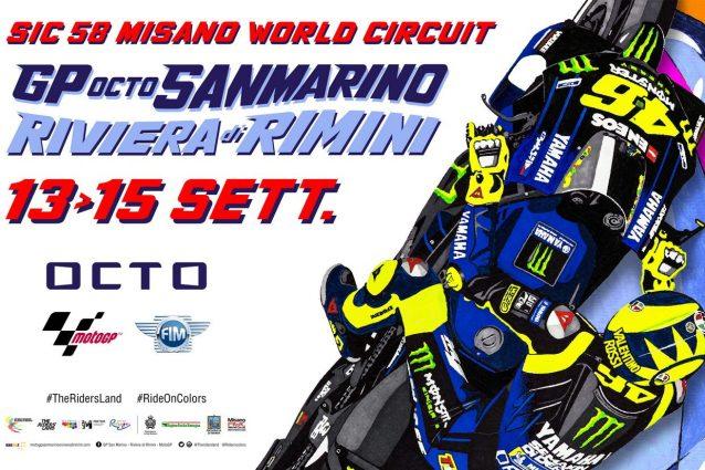 Il poster del GP di San Marino e Riviera di Rimini 2019 / MWC