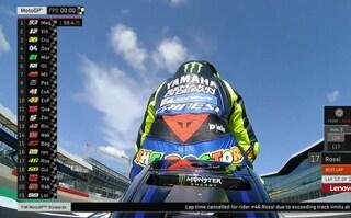 MotoGP Silverstone, Marquez si prende il venerdì. Tempo cancellato per Rossi, solo 17°